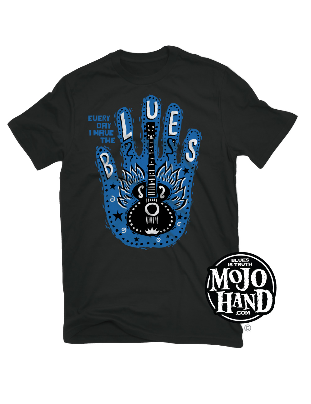 Mojohand Blues Hand T-shirt