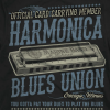 Blues harmonica t-shirts at Mojohand.com - the finest in Blues gifts, apparel and hats since 2001.