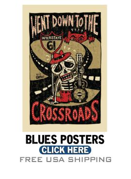 Blues Posters and Gifts - Blues t-shirts, largest selection