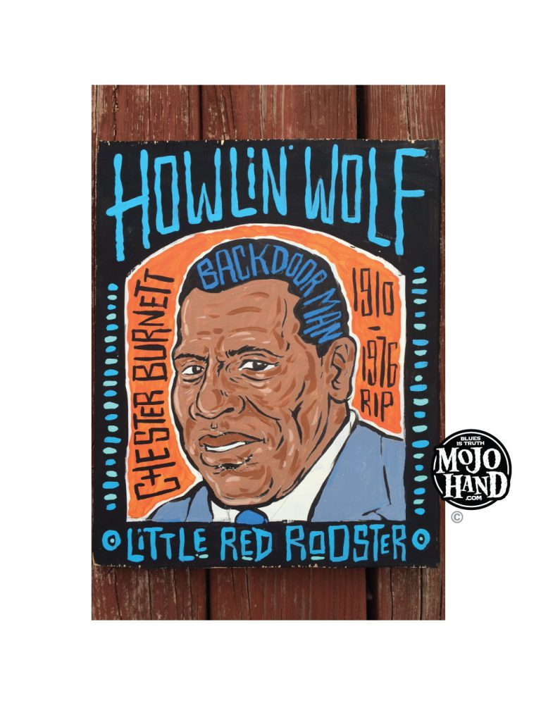 Howlin Wolf Blues Backdoor Painting