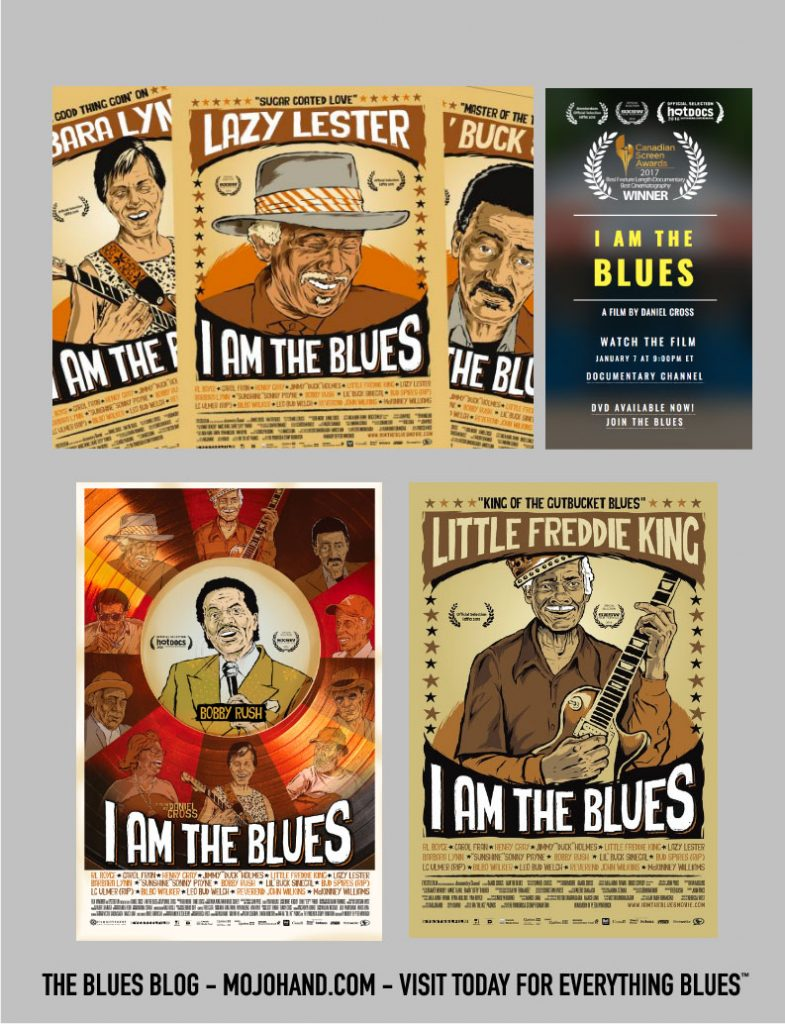 I am the Blues posters - mojohand.com - everything Blues