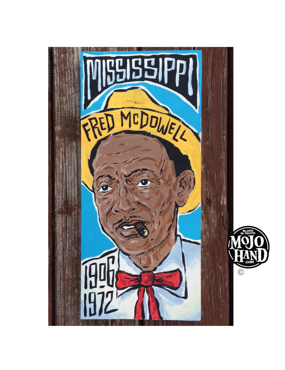 Mississippi Fred McDowell art