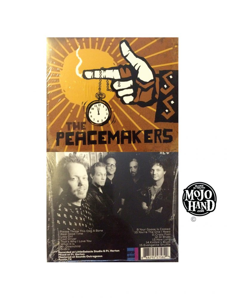 The Peacemakers blues band CD