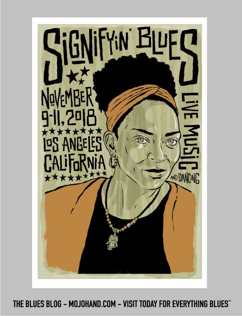 signifyin blues poster - custom artwork