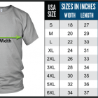 Blues T-shirt size chart - Mojohand.com Home of the finest Blues gifts, T-shirts and hats