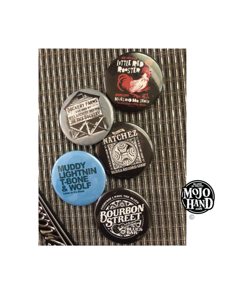 Blues Buttons batch four
