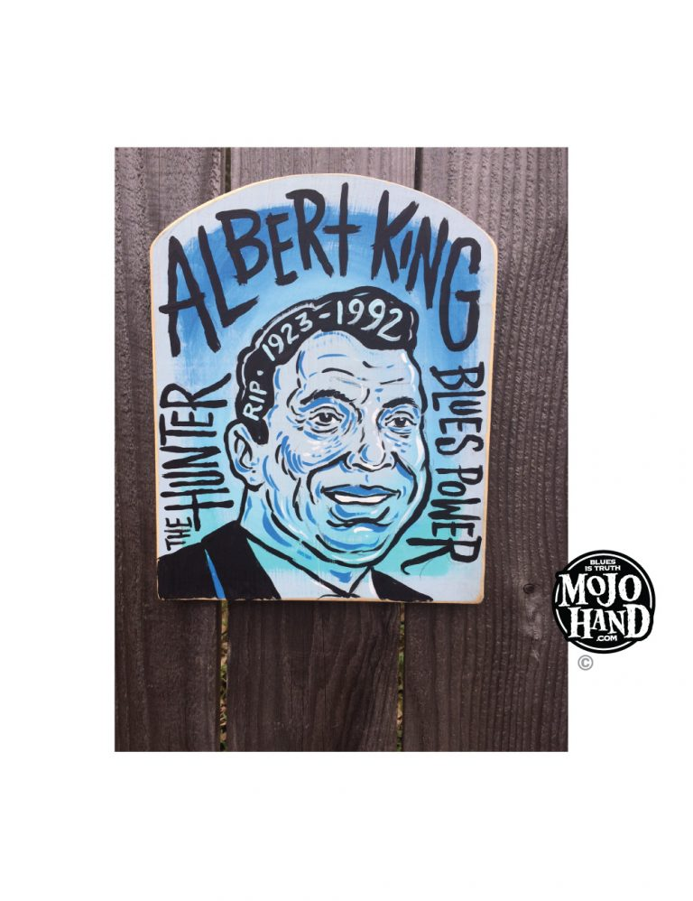 Albert King Arch Folk Art Painting