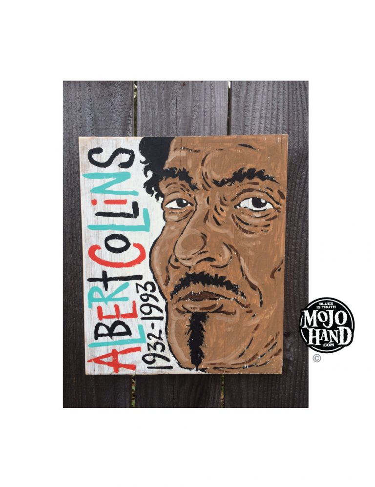 Albert Collins Blues Folk Art