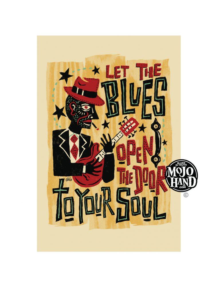 blues poster G grego anderson / mojohand.com