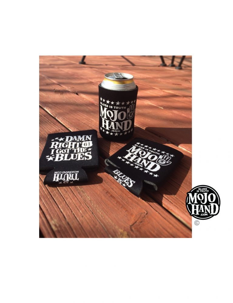 Blues Koozie- 4 pack