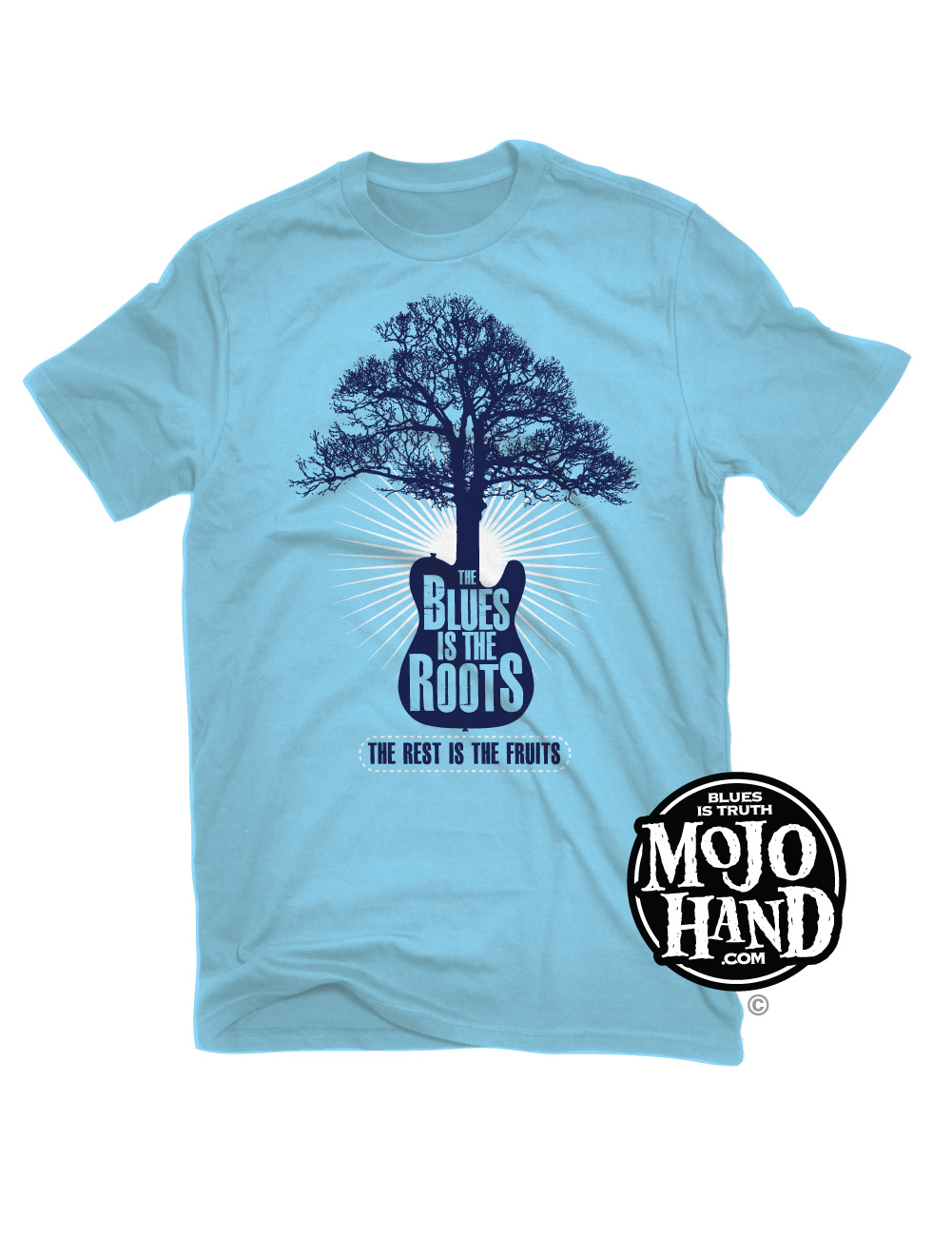 blues is the roots t shirt mojohand everything blues