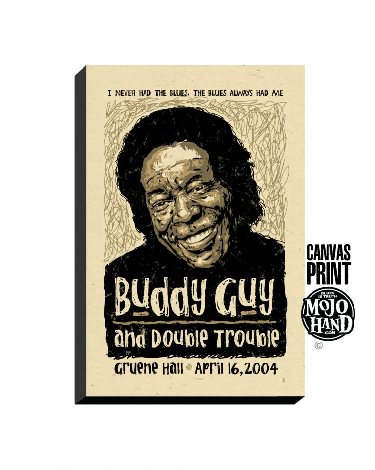 buddy guy concert poster