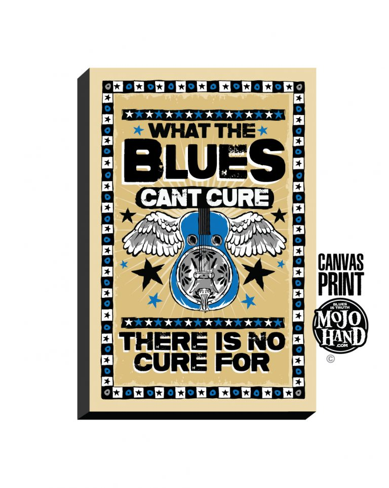 Blues Dobro Canvas art print