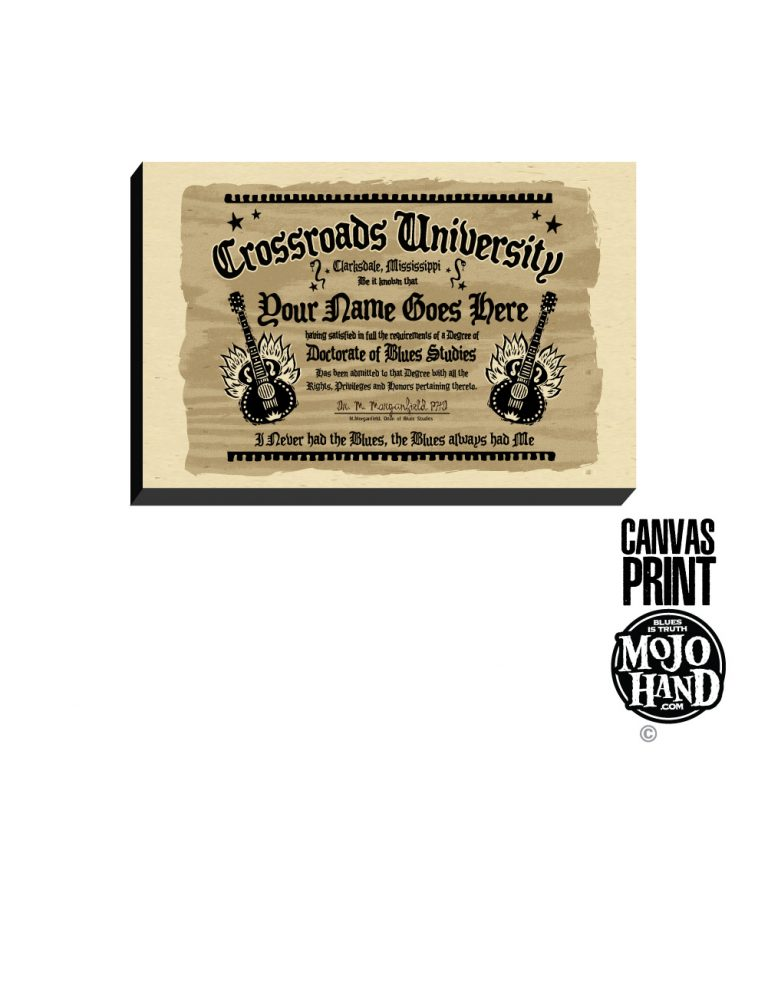 personalized crossroads diploma