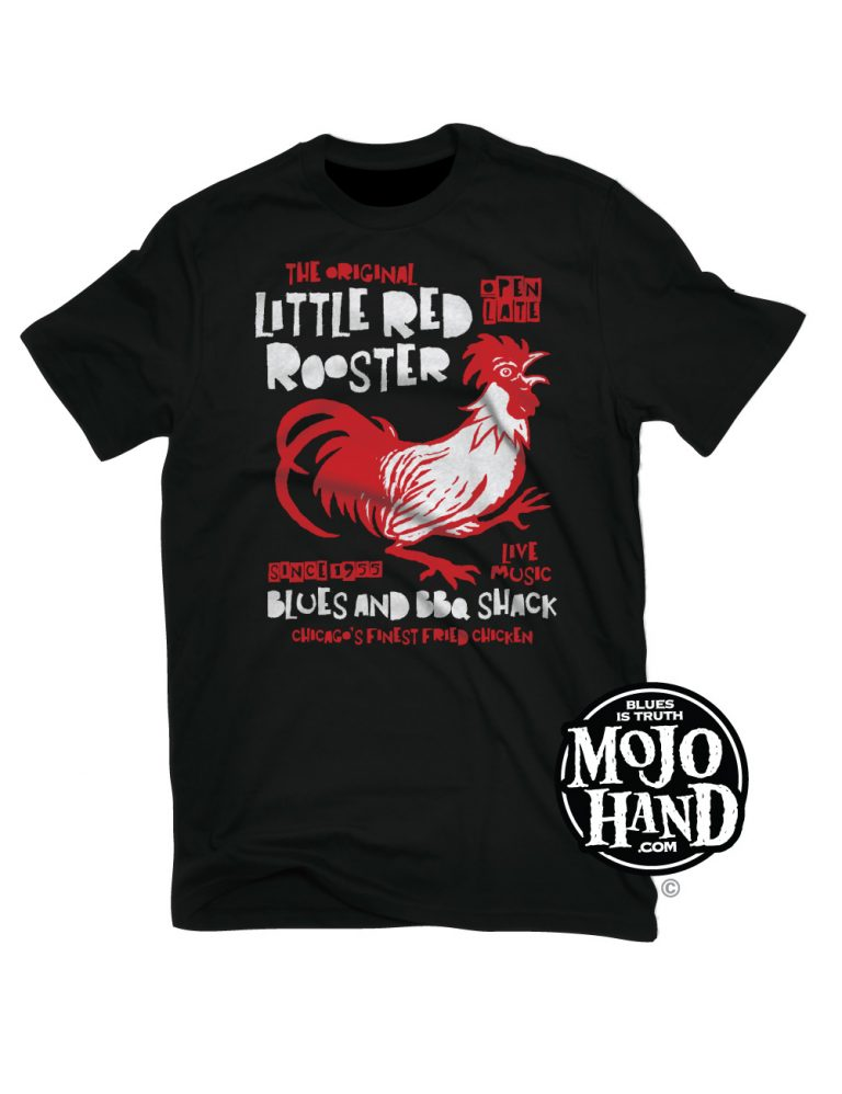 Little Red Rooster Blues T-Shirt