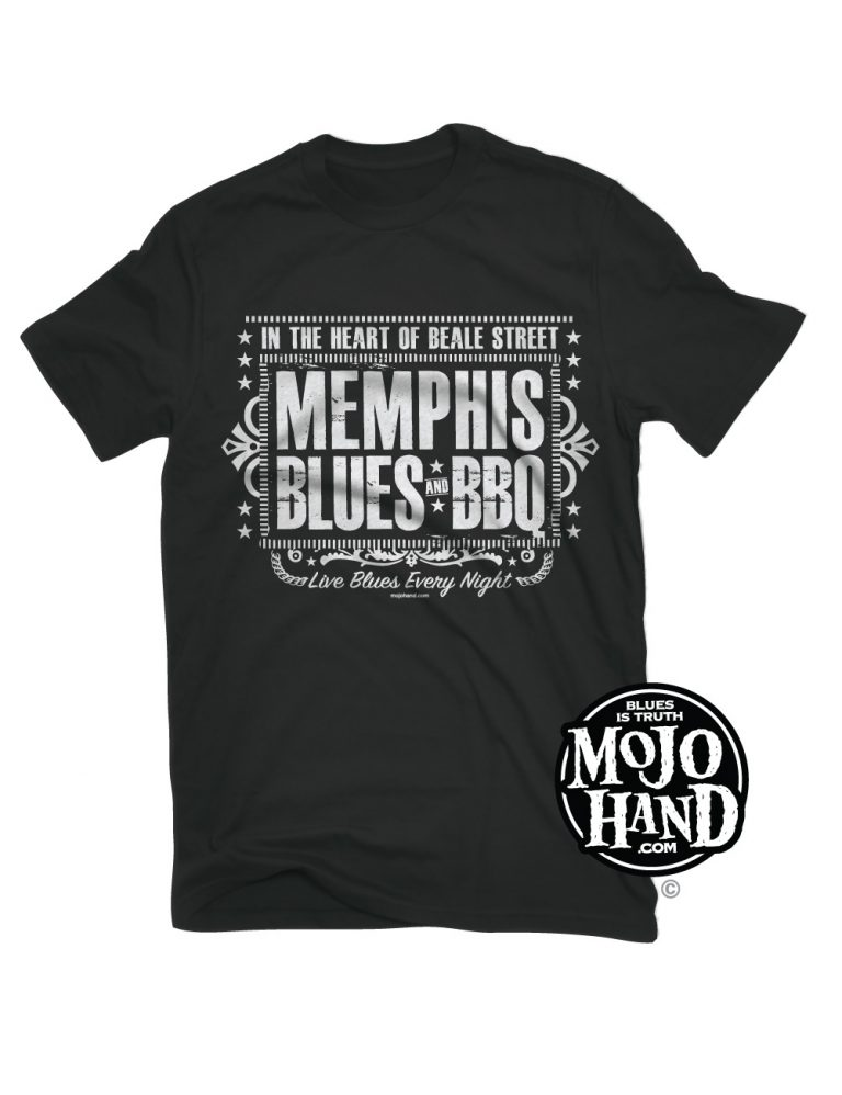 memphis blues and BBQ tee