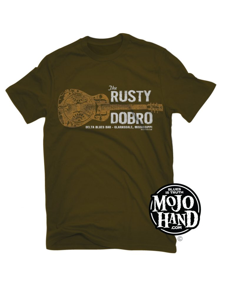 Rusty Dobro Blues Bar Tee