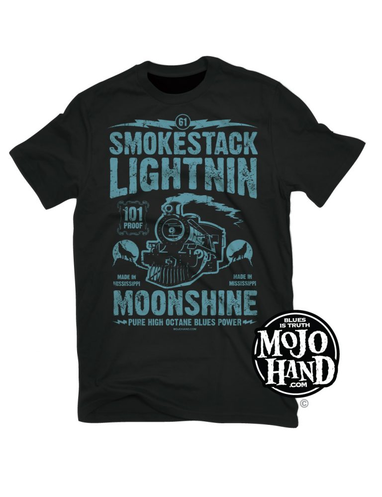 Blues T-shirt smokestack wolf