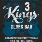 3 Kings Blues Bar T-shirt