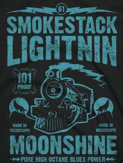 howlin wolf shirt detail