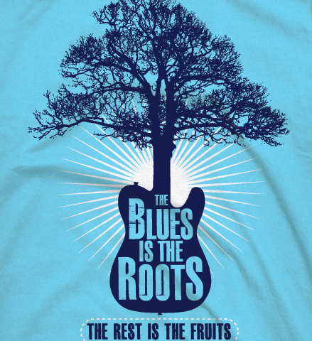 blues is the roots detail