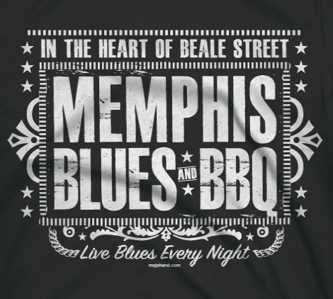 memphis Blues detail