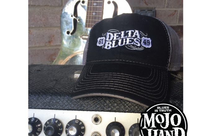 Delta Blues Embroidered Hat