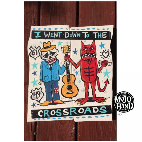 Crossroads Blues Deal painting