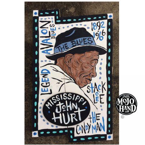 Mississippi John Hurt Blues Painting