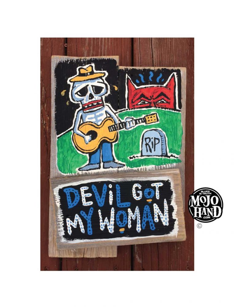 devil got my woman blues art