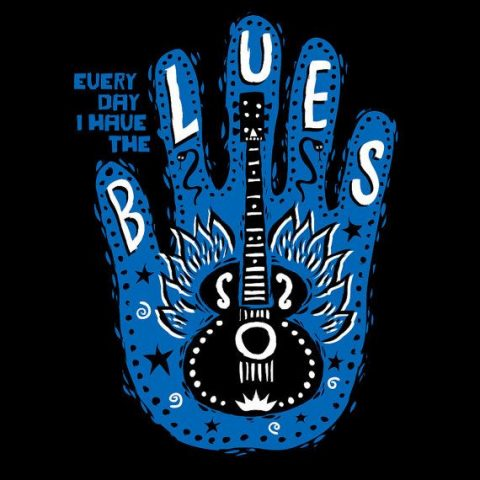 mojohand blues t-shirt
