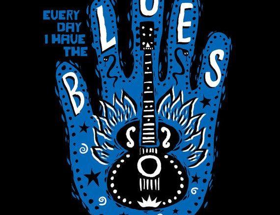mojohand blues t-shirt