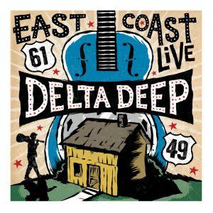 delta deep cd - blues art by Grego Anderson / Mojohand.com