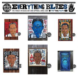 robert johnson blues paintings, painting, art, canvas, folk art, gallery, for sale