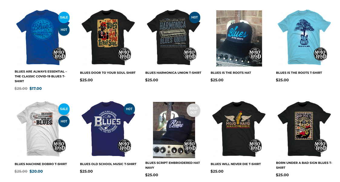blues christmas holiday gift guide music