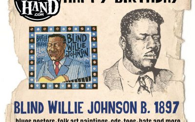 Today in Blues history – January 22, 1897 – Blind Willie Johnson is born