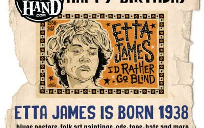 Today in Blues history – January 25, 1938 – Etta James is born