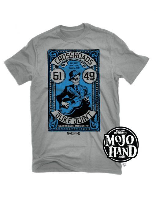 crossroads juke joint tee for sale - mojohand blues shirts