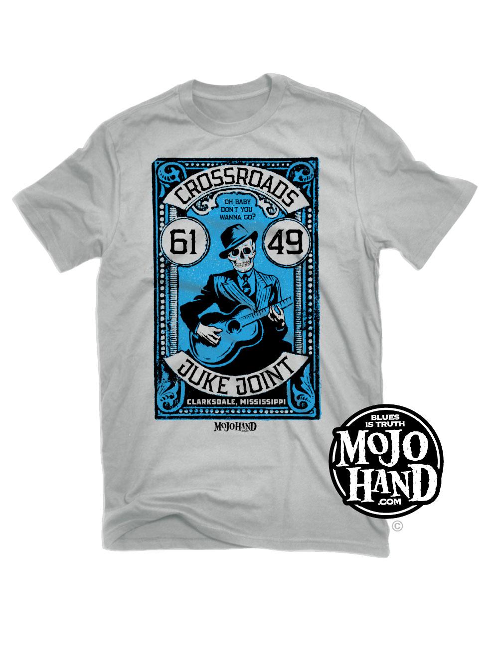 Mojohand Blues Hand T-shirt