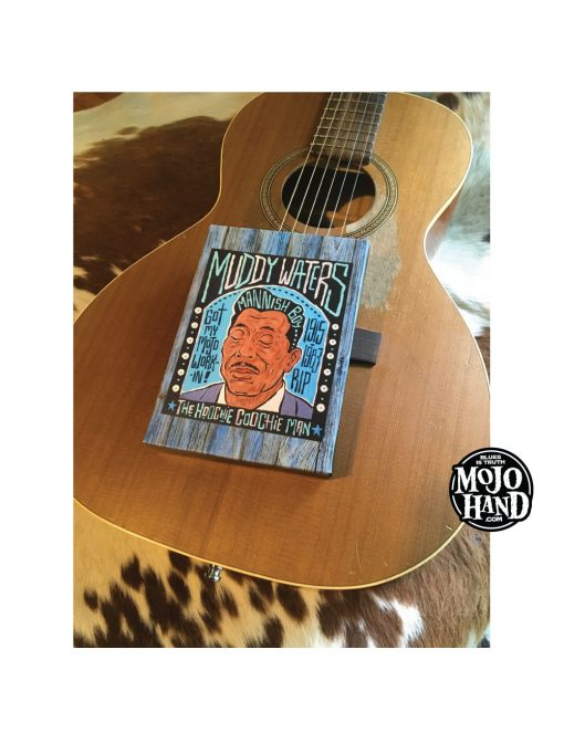 purchase muddy waters canvas print - blues art